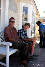 Photo: (Year 3) Day 27 - Rog and Edward in Capitola