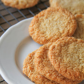 Chewy Almond Cookies Almond Flour Recipes