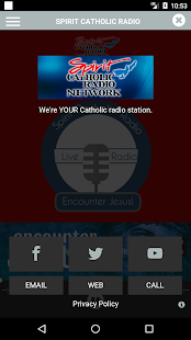 Spirit Catholic Radio- screenshot thumbnail
