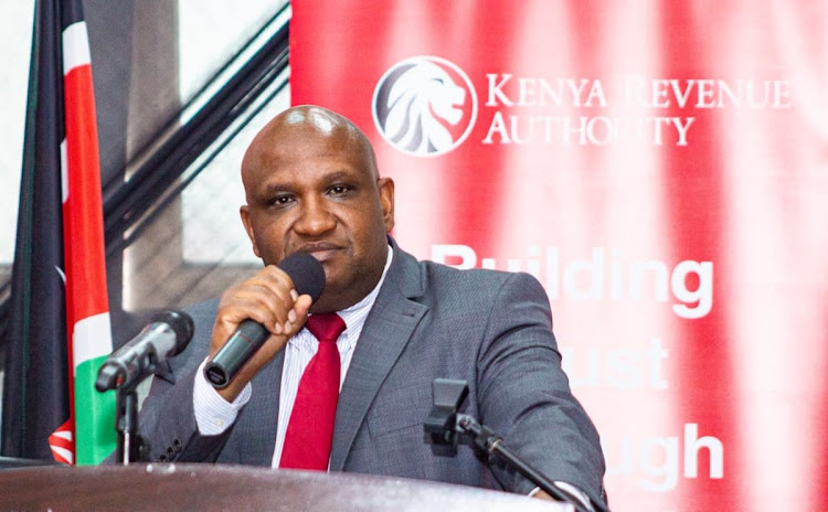 KRA Commissioner General James Mburu