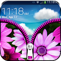 Zip Lock Theme Flower icon