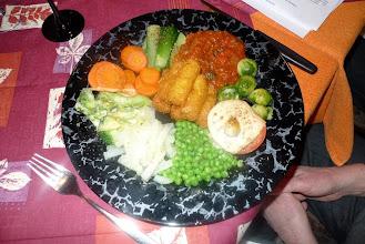 Photo: Eine Augenweide dieses vegetarischen Menüs