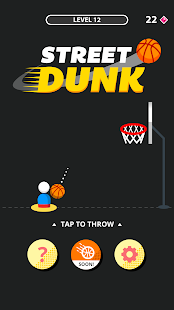 Street Dunk Screenshot