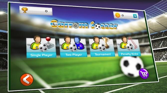 New Soccer Stars 2018 : Carrom King Soccer Game Android 1