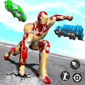 Iron Superhero War: Iron Robot Rescue Mission 2020 icon