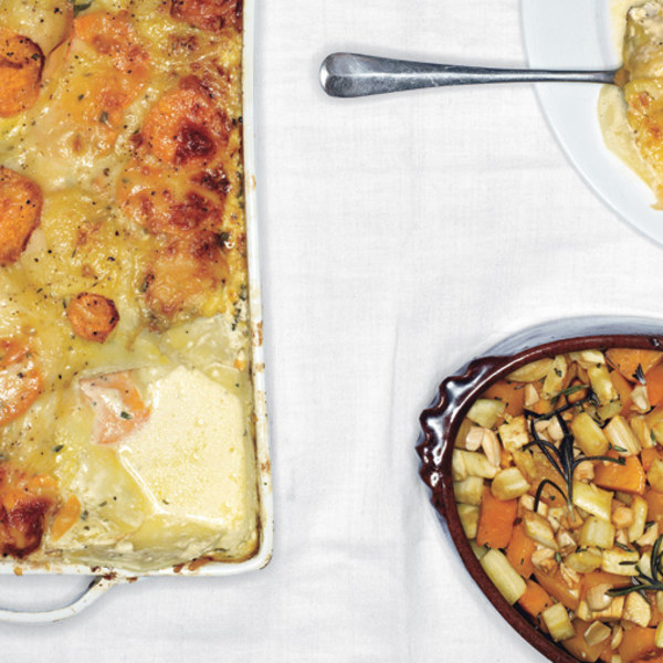Gratin Of Yukon Gold Potatoes Recipe — Dishmaps