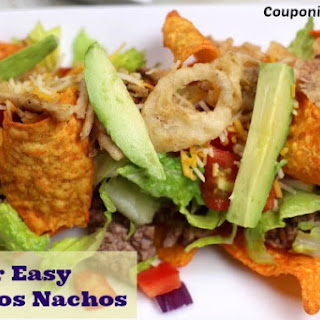 Super Easy Doritos Nachos