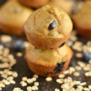 Blueberry Apple Cider Vinegar Muffins.