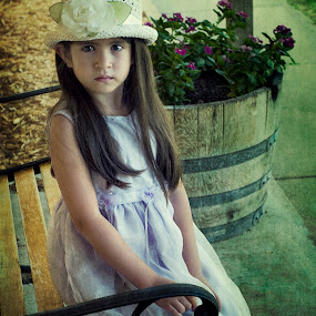 prissy by Ruby Del Angel - People Fine Art ( child, girl, color, texture, art, fine art, people, photo, photography )