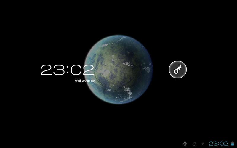 Скриншот Planet Venus 3D Live Wallpaper