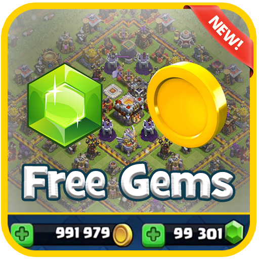 Unlimited Gems for COC Prank