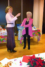 Photo: Dr Helen Clerk selects a raffle ticket