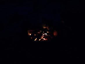 Photo: evening campfire