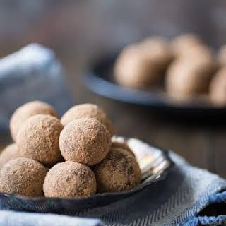 Chocolate Malt Truffles.