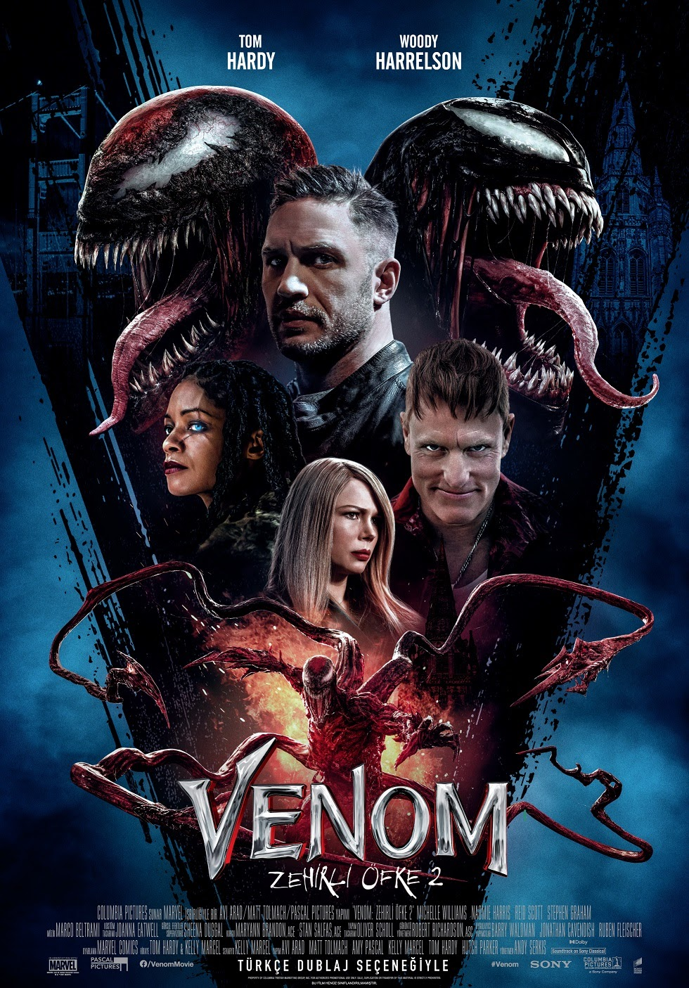 Venom: Zehirli Öfke 2 - Venom: Let There Be Carnage (2021)