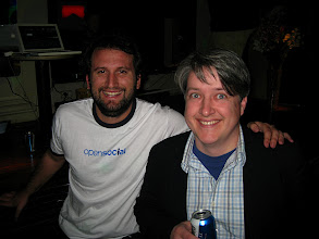 Photo: Bruno and Jason: apps and infrastructure go hand in hand