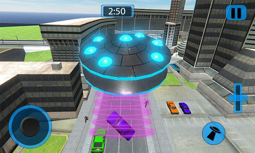 Code Triche Volant UFO Simulateur Spaceship Attaque Terre APK MOD screenshots 2