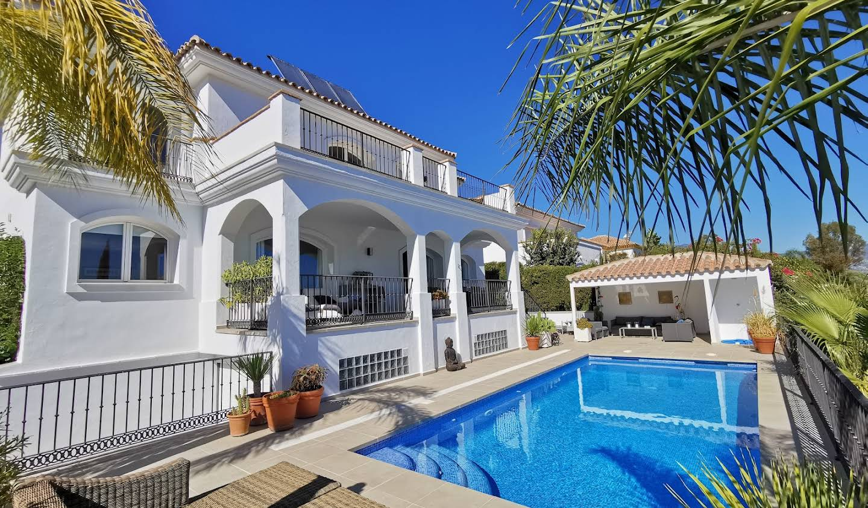 Villa with pool and garden Mijas