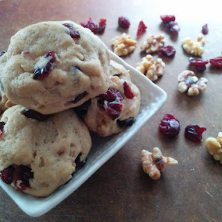 Best Ever Walnut Cranberry Cookies (butter Free)