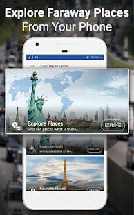 GPS Navigation & Maps Directions - Route Finder