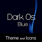 Dark Os Blue Theme Icon