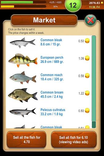 Code Triche Fishing Baron - realistic fishing game apk mod screenshots 5