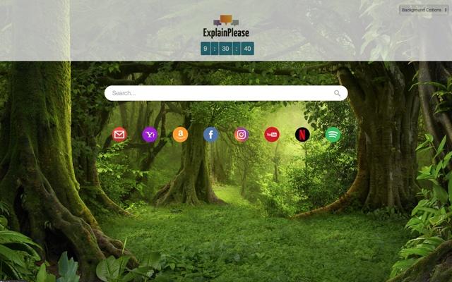ExplainPlease New Tab