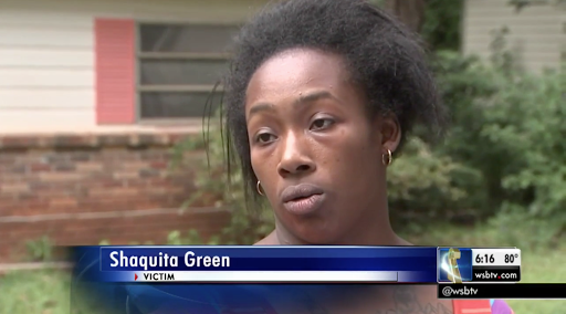 Young black mother stands her ground in Georgia