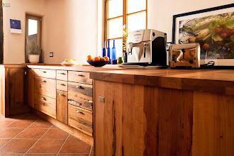 Photo: Massivholzküchen von Pfister nur echt mit dem Qualtätssiegel