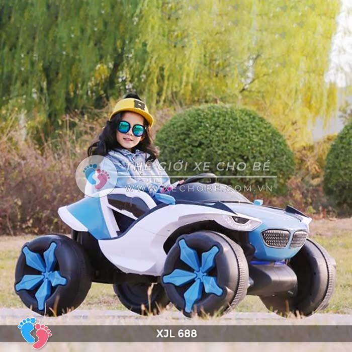 Xe ô tô điện địa hình cho bé XJL-688 19