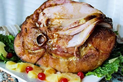 Louisiana Style Glazed Ham