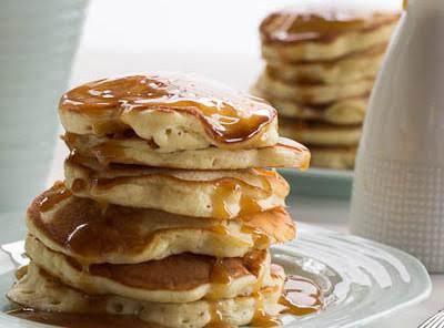Caramel Cake Pancakes Recipe