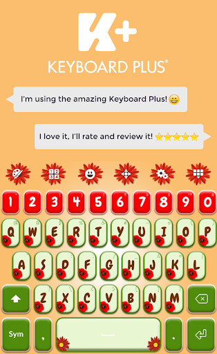 Poppy Garden Keyboard