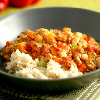 Three-Pepper Chicken Chili