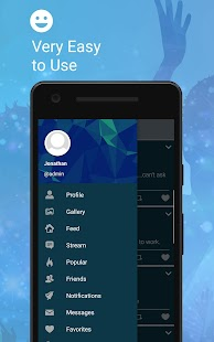 Echo - Social Network- screenshot thumbnail
