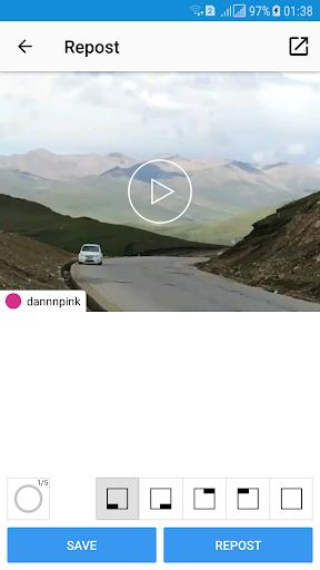 Repost Photo & Video for Instagram 1.0.2 screenshots 5