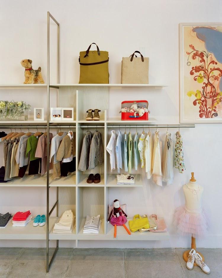 thiết kế shop quần áo trẻ em tại Hà Nội