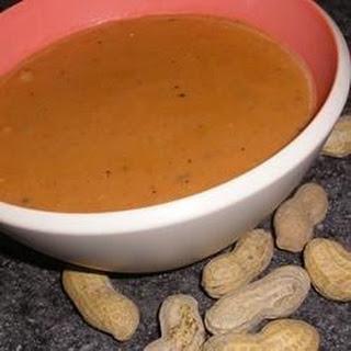 West African Peanut Soup.