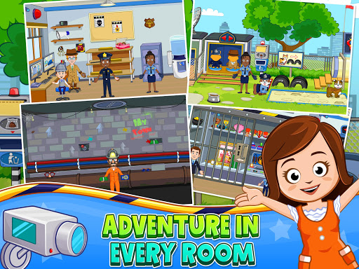 My Town : Police Station game for Kids filehippodl screenshot 11