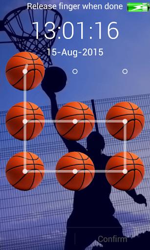 basketball screen lock pattern