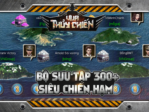 Vua Thu1ee7y Chiu1ebfn : Truy Ku00edch Tru00ean Biu1ec3n 1.0.12 12