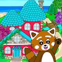 Pukkins Hus - Roligt lärande spel för barn icon