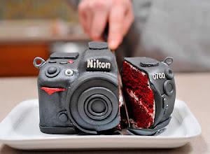 Photo: Nikon Camera Cake