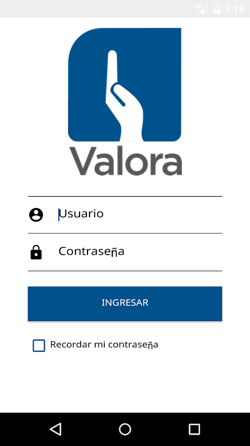 Valora- screenshot