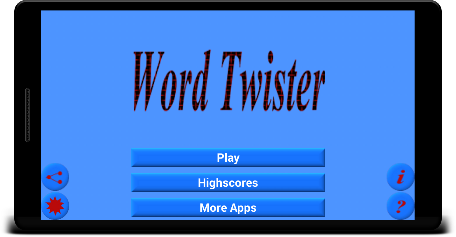 Word Twister- screenshot