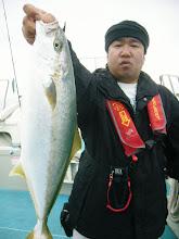 Photo: やったぜ! キタノさんヒラスキャッチ!