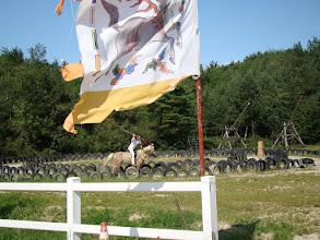 Photo: Dienstag - Training Speerkampf vom Pferd