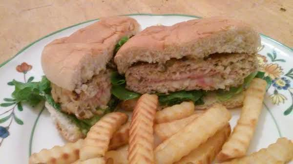 Chicken Cordon Bleu Burgers Recipe