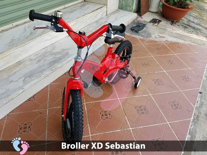 Xe đạp cho bé Broller XD Sebastian 3