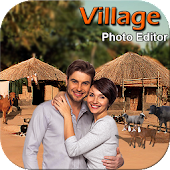 Village Cut Paste Photo Editor